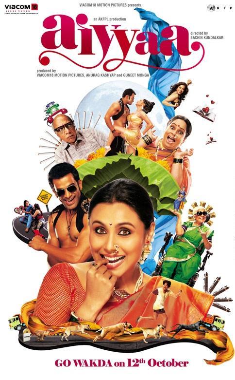 First Poster of Rani Mukerji's 'Aiyyaa'.