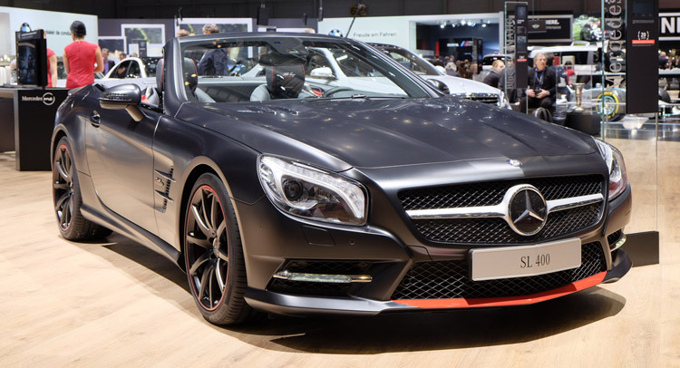 Mercedes-Benz SL Mille Miglia 417 Special Flaunts Its Matte Body In Geneva
