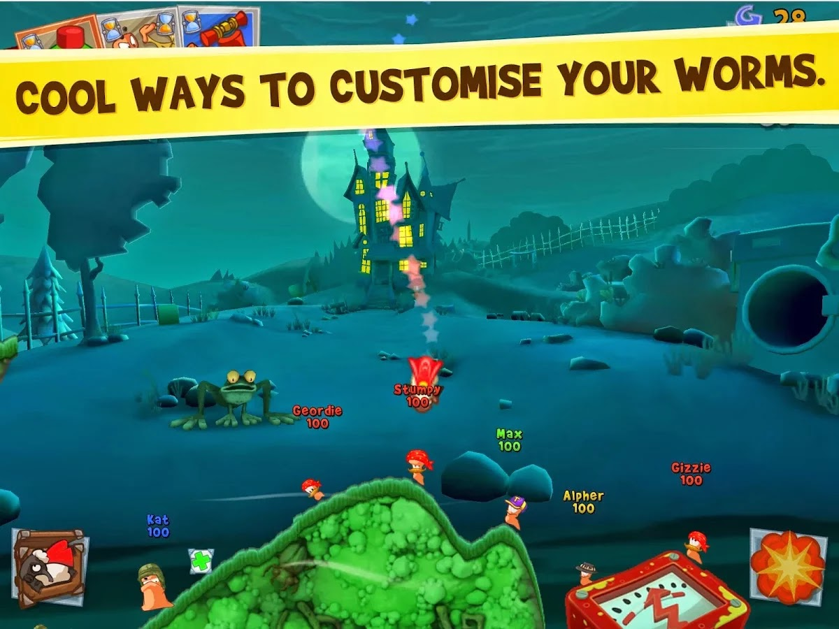 Worms 3 v1.82 Mod [Unlimited Money/Unlock]