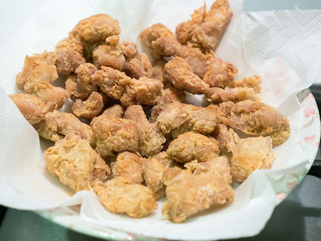 fried chicken or popcorn chicken