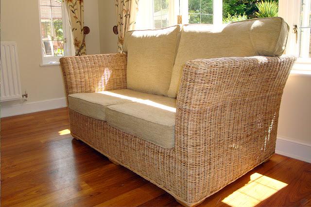 Minimise sun damage to conservatory furniture