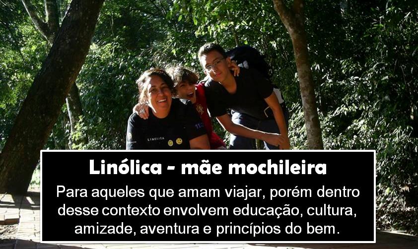 Linolica - mãe mochileira