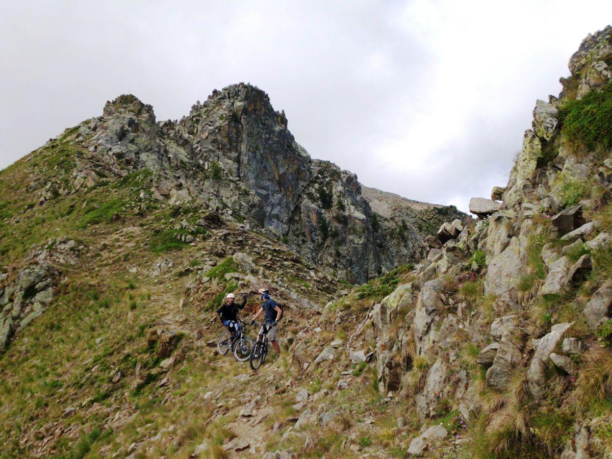 CICLOALPINISMO: La Balconata monte Ciaval / Vaccia / Sambuco