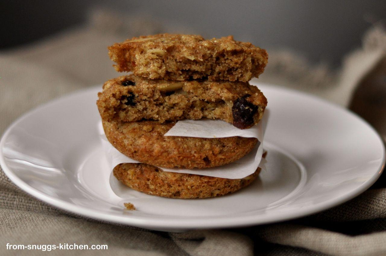 Vollkorn-Haferflocken-Cookies