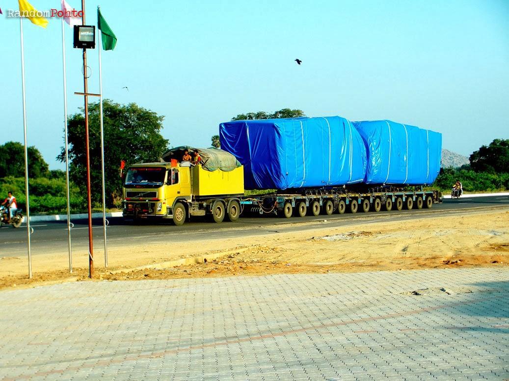multi axle truck 114 wheels