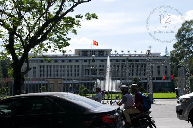 independance palace ho chi minh, ho chi minh attraction