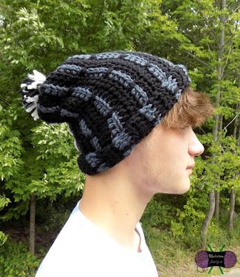 Freshman Slouch Hat Crochet Pattern