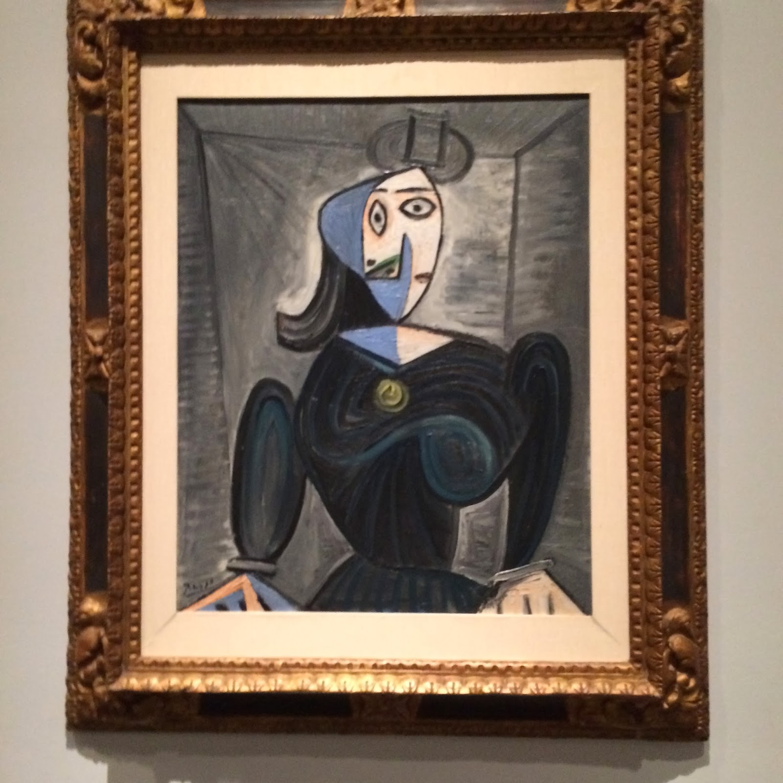 picaso woman at lacma