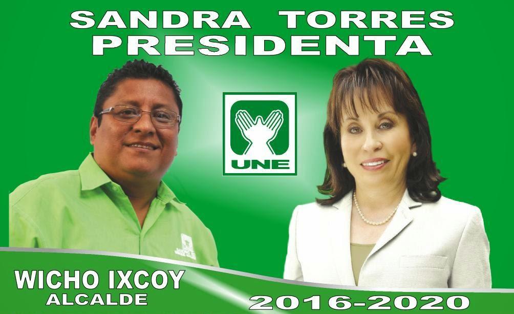 Wicho Ixcoy Candidato a la alcaldía de