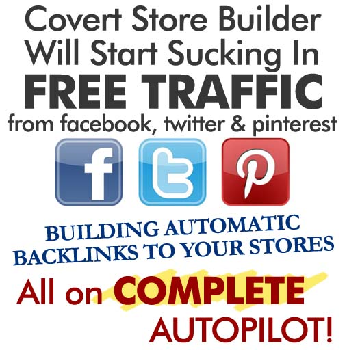 Covert Store Builder Review Traffic Social Networks