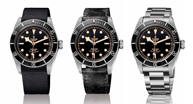 Tudor introduces the heritage black bay black with prices watches by sjx - Tudor dive watch price ...