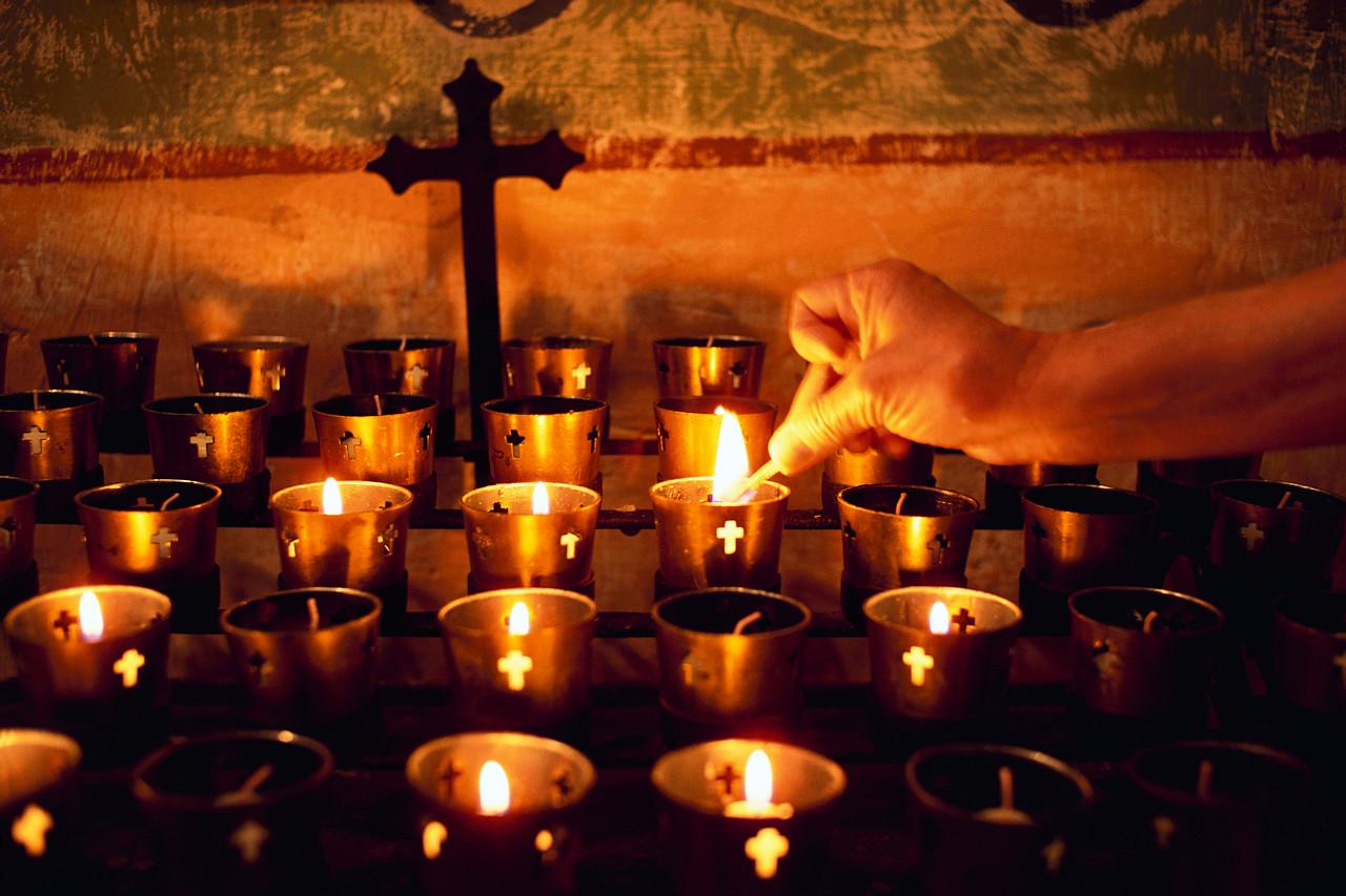 Catholic Church Candles