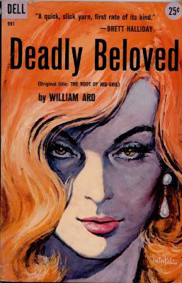 Victor Kalin pulp cover art