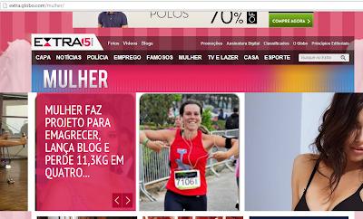 Extra.Globo.com Foca na Balança