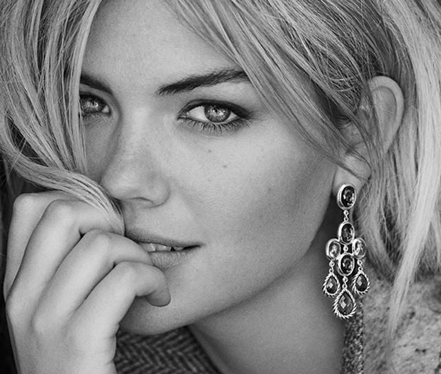 David Yurman earrings Kate Upton