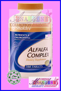 Alfalfa Complex - Kacip fatimah moden
