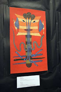 Exhibition of Gond Art at the National Institute of Design