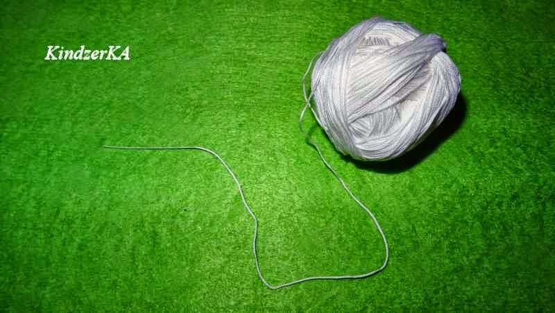 Вязание капроновыми нитками 13