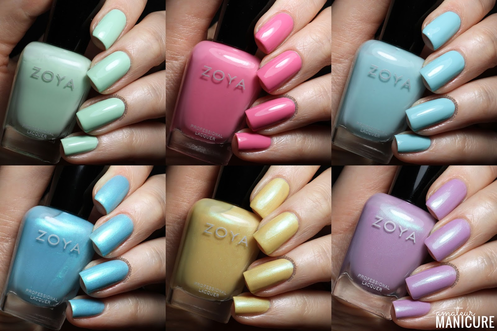 Amateur manicure a nail art blog zoya spring 2015 delight zoya spring 2015 delight collection sciox Gallery