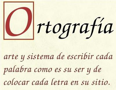 La Ortografia es un Arte