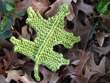 Pin Oak Leaf Pattern