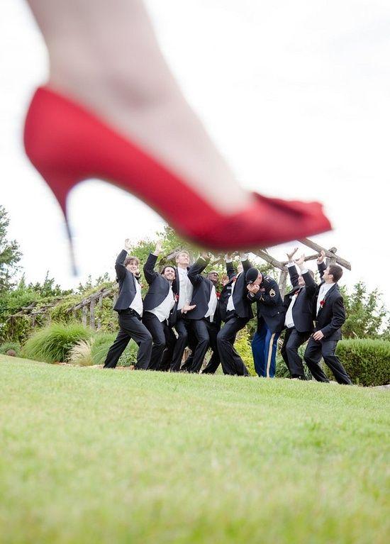 друзья жениха под каблуком у невесты