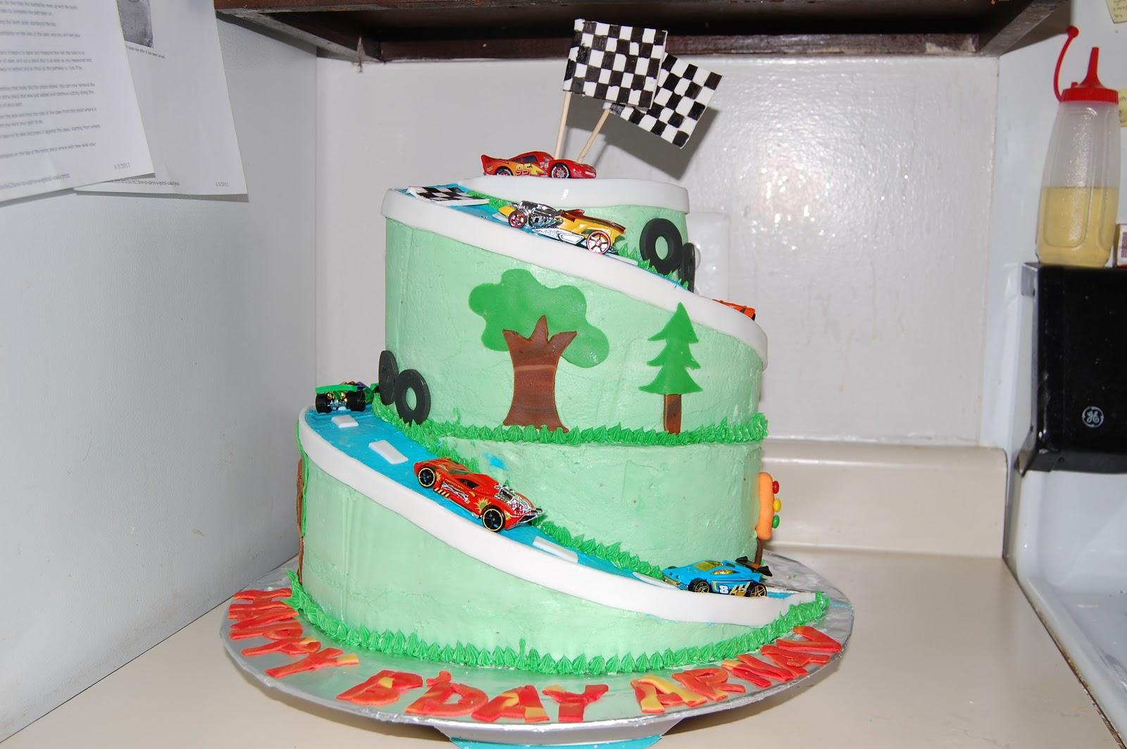 ilovecakes Car themed birthday cake