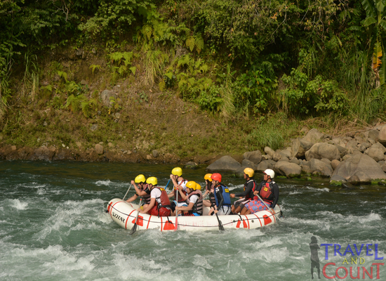 CDO Advance Course White Water Rafting