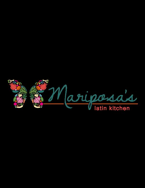 the ink well: Mariposas Latin Kitchen Logo