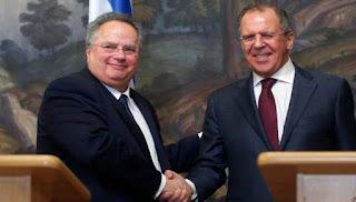 """ΕΜΜΕΣΗ ΑΠΑΝΤΗΣΗ ΣΤΗΝ ΠΡΟΣΚΛΗΣΗ ΤΩΝ ΣΚΟΠΙΩΝ ΑΠΟ ΤΙΣ ΗΠΑ ΩΣ """"ΜΑΚΕΔΟΝΙΑ"""" Τη συνεργασία Ελλάδας-Ρωσίας στη Συρία κατά του ISIL ανακοίνωσε το ΥΠΕΞ!"""