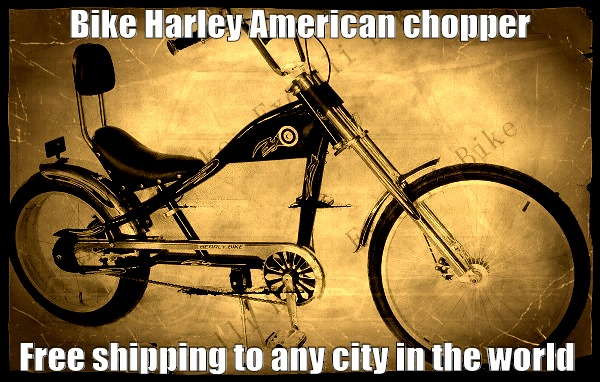 Bike Harley American chopper