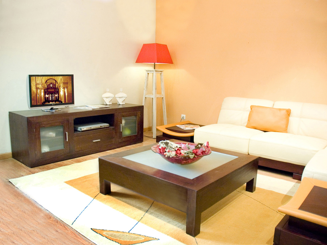 Small living room design with wooden floor for Small living room designs 2013