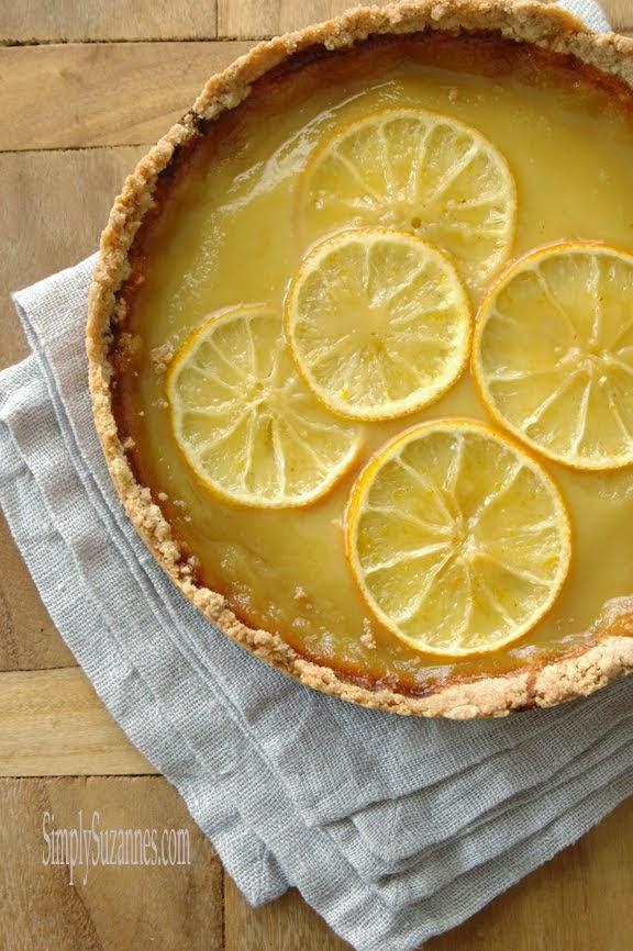 lemon & honey tart