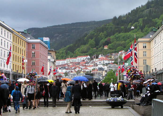 17th of May in Bergen
