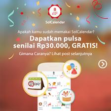 Pulsa 30K Gratis Tanpa Diundi, Cuma Download App doang!