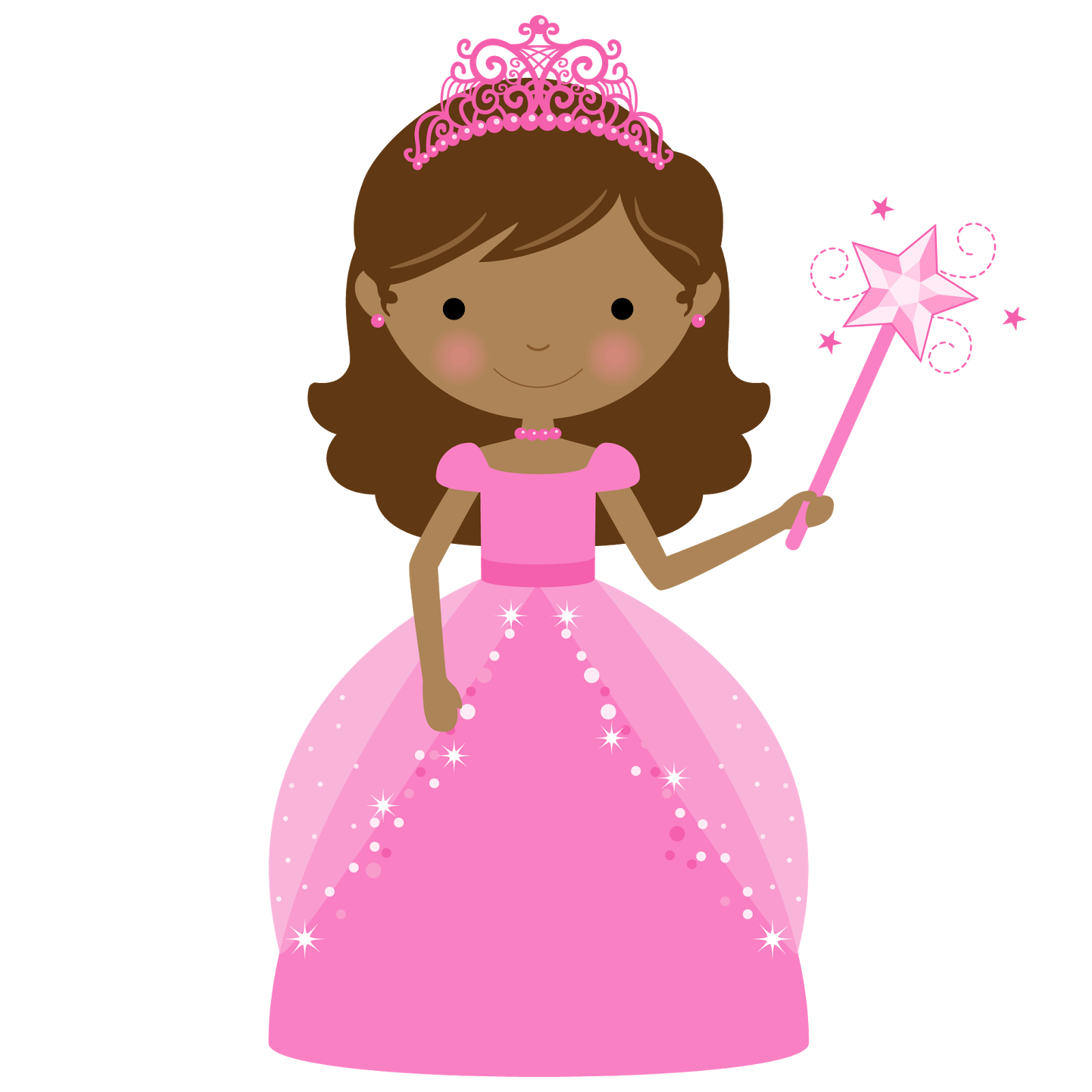 Princess And Cupcake Clipart Oh My Fiesta In English
