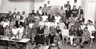 Participantes en el Torneo Abierto Internacional de 1970