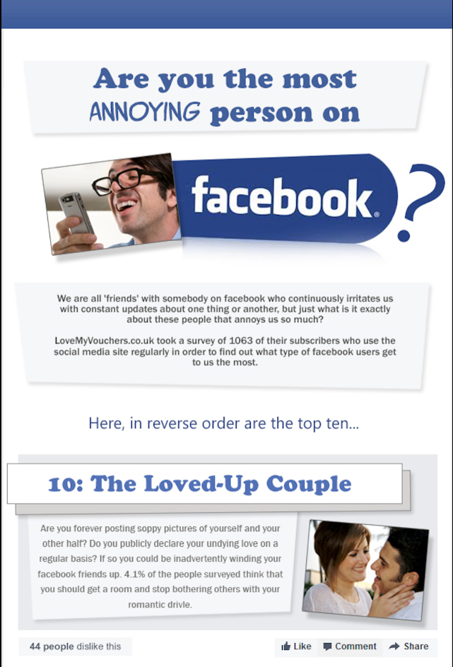 types of facebook users essay For instance, 93% of twitter users also use facebook - as do 95% of instagram users and 92% of pinterest users outside of facebook, other sites' users show high levels of reciprocity for instance, 65% of those with a twitter account also use instagram, while 49% of instagram users also have twitter.