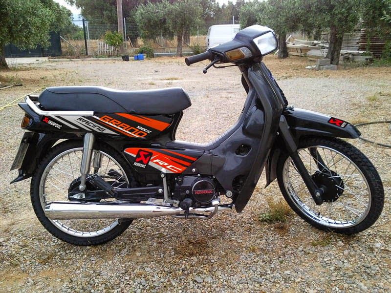 contoh modifikasi motor honda grand astrea