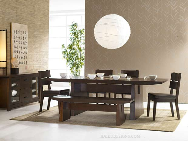 Modern dining room furniture furniture for Modern dining room table decor