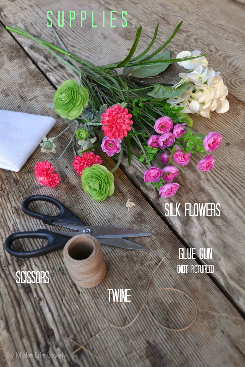 how to make crown of flowers