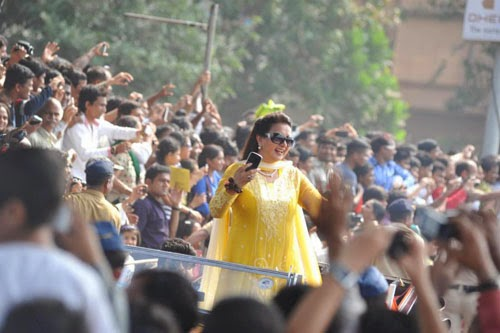 Famous Celebrities at 65th Republic Day Celebrations Photos