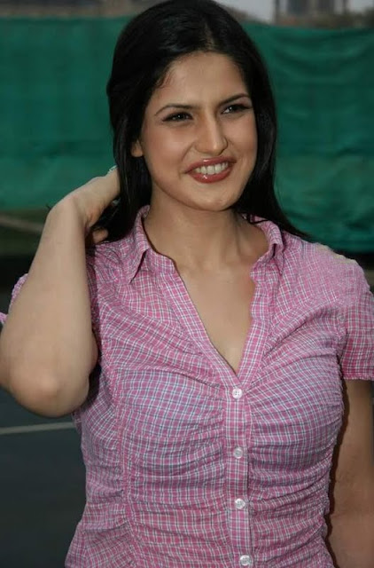Beautiful Indian Actress Zarine Khan
