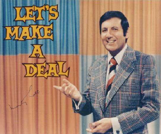 ... best known as host of the television game show Let's Make a Deal.