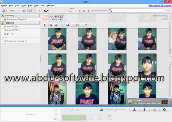 Picasa 3.9 Build 136.19