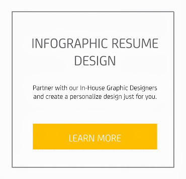 Professional Resume/CV Infographic Design Services
