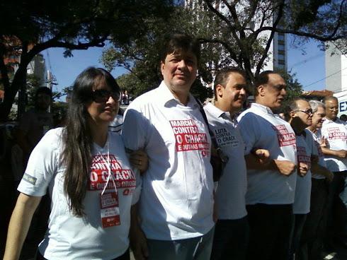 Marta Lança na Marcha Contra o Crack e Outras Drogas