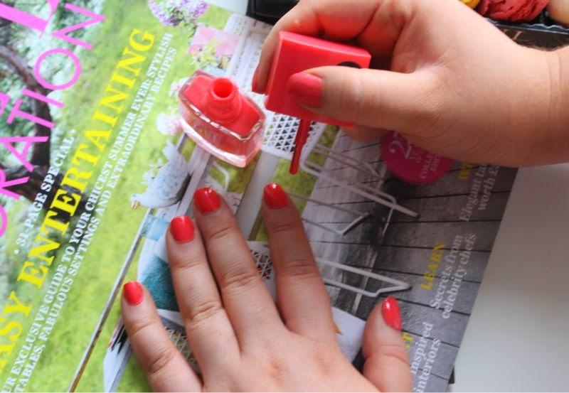 Nails Inc Gel Effect Polish in Kensington Passage