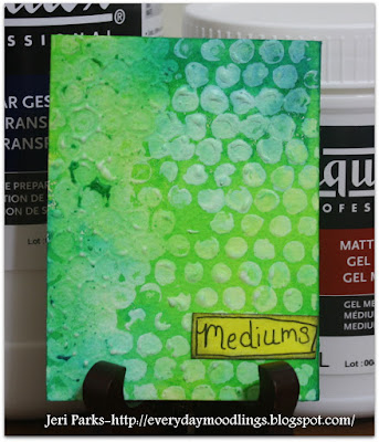 Everyday Moodlings-Acrylic Mediums