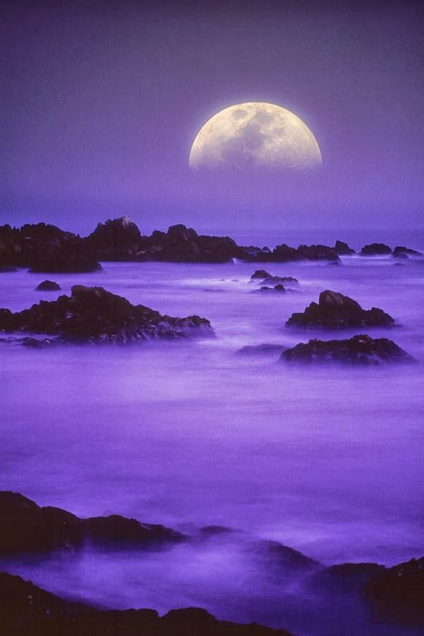 luna,romantica,paisajes